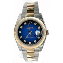 Rolex Datejust Men's Heavy Oyster Band Model 116233 In Box...