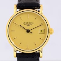 Longines 18K Lady Présence Dresswatch Classic Box, Papers