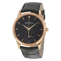 Jaeger-LeCoultre Master Ultra Thin Moon Automatic Mens Watch...