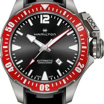 Hamilton Khaki Navy Frogman Titanium H77805335 Herren Automati...