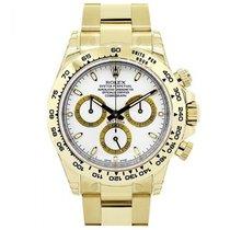 Rolex Cosmograph Daytona 116508 White Index Tachymetre Yellow...