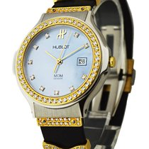 Hublot 1400.82 Classic Ladys 2-Tone with Diamond Lugs and...
