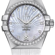 Omega Constellation Co-Axial Automatic Ladies Watch