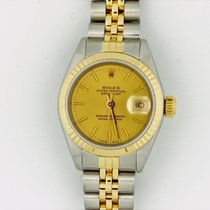 Rolex Datejust Two Tone 18k Gold & Stainless Steel...