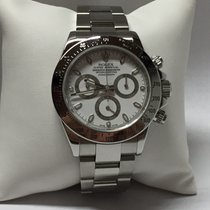 Rolex Cosmograph Daytona 116520 White Dial Stainless Steel