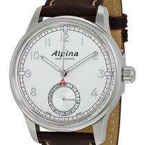 Alpina Alpiner Manufacture Automatic Brown Mens Strap Watch...