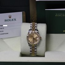 Rolex Datejust Ladies 179173 Steel & 18k Gold Never Worn...