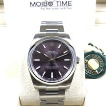 Rolex Oyster Perpetual Red Grape Purple Index Dial 34mm [NEW]