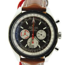 Breitling Chrono-Matic 49 Brown Dial Stainless Steel