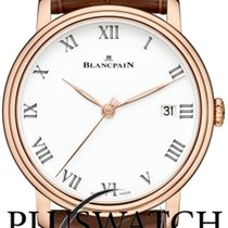 Blancpain Men's Villeret Automatic Watch 8 Jours Gold 18K