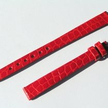 Chopard Croco Band Strap Red 10 Mm 70/105 New C10-1 -70%