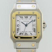 Cartier Santos Galbee Automatic Steel-Gold