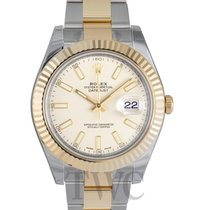 롤렉스 (Rolex) Datejust II White/18k gold Ø41 mm - 116333