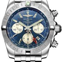 ブライトリング (Breitling) Chronomat 44 GMT Blue Dial AB042011/C851-375A