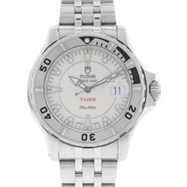 Tudor Prince Date Tiger Stainless Steel 89190