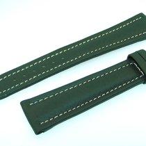 Breitling Band 22mm Green Calf Strap Correa Ib22-7