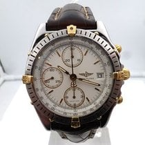 Breitling vintage CHRONOMAT gold and steel AUTOMATIC ref B13047