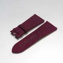 """Cartier Uhrenarmband""""Leder/Satin Violet 29,20/ 22,35..."""