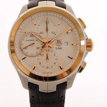 TAG Heuer Link Men's Automatic Chronograph 43mm - NEW -...