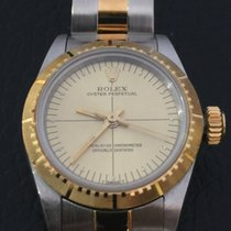 Rolex Lady oyster ref.67243 yellow gold