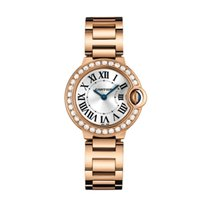 Cartier Ballon Bleu Quartz Ladies Watch Ref WJBB0015
