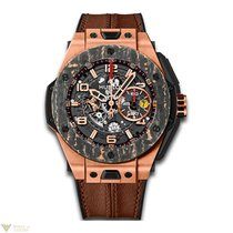 Hublot Big Bang Ferrari Automatic 18K Rose Gold Chronograph...