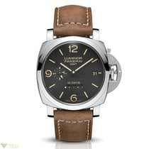 Panerai Luminor 1950 GMT Stainless Steel Men's Watch