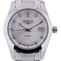 Longines Conquest Classic 29.5 MoP Diamonds