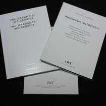 IWC kit Ingenieur Automatic ref.3224/3225 booklet papers card