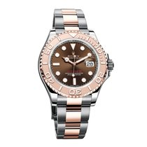 Rolex YACHT MASTER 40 STEEL ROSE GOLD CHOCO DIAL