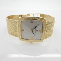 Omega Hand-Winding 17j 620 Solid 14K Yellow Gold 26mm Wrist Watch