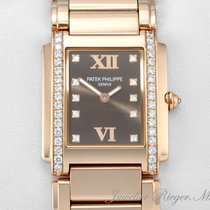 Patek Philippe Twenty 4 Medium Rosegold 750 Diamanten  4910