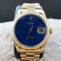勞力士 (Rolex) DATEJUST 1601 18K YG with Original Lapis Dial with...