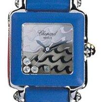 Chopard 278896-3004 Happy Sport Diamonds Steel Ladies - Steel...
