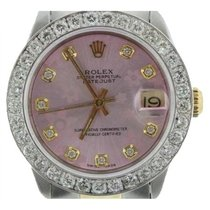 Rolex Datejust Ladies' 36mm Pink Flower Mother Of Pearl...