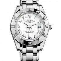Rolex Lady-Datejust Pearlmaster  12 Diamond Bezel