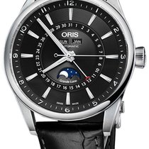 Oris Artix Complication Moonphase Automatic Steel Mens Watch...