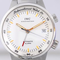 IWC GST Alarm white Dial Stahl Taucheruhr Klassiker Cal 917...