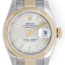 Rolex Datejust 2-Tone Steel & Gold Ladies Watch 179163