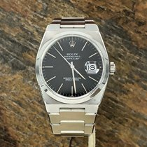 Rolex DateJust Oyster quartz 17000 Black Dial Unpolished Case