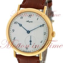 Breguet Classique Automatic, White Dial - Yellow Gold on Strap