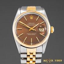 Rolex Datejust 18K Gold & S.Steel Automatic 36 mm Men's
