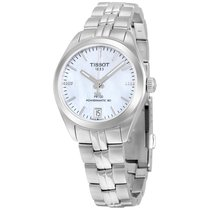 Tissot Ladies T1012071111600 PR 100 12 Diamonds Powermatic80...