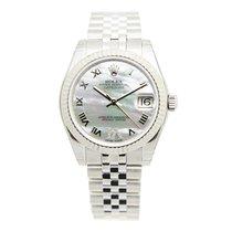 勞力士 (Rolex) Lady Datejust White Gold And Steel White Automatic...