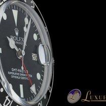 Rolex GMT-Master Edelstahl/Schwarz Plexiglas | Rolex Service 2017