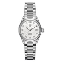 TAG Heuer Carrera Automatic White Dial Ladies Watch