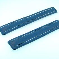 Μπρέιτλιγνκ  (Breitling) Band 16mm Kalb Blau Blue Azul Calf...