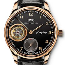 IWC Portuguese Tourbillon 18K Rose Gold Men`s Watch