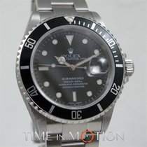 Rolex Submariner Date 16610  Luminova Certif Rolex + Box++