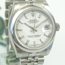 Rolex Oyster Perpetual Date Just Medium Box & Papers
